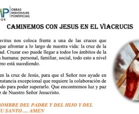 Caminemos con Jesús el el Víacrusis